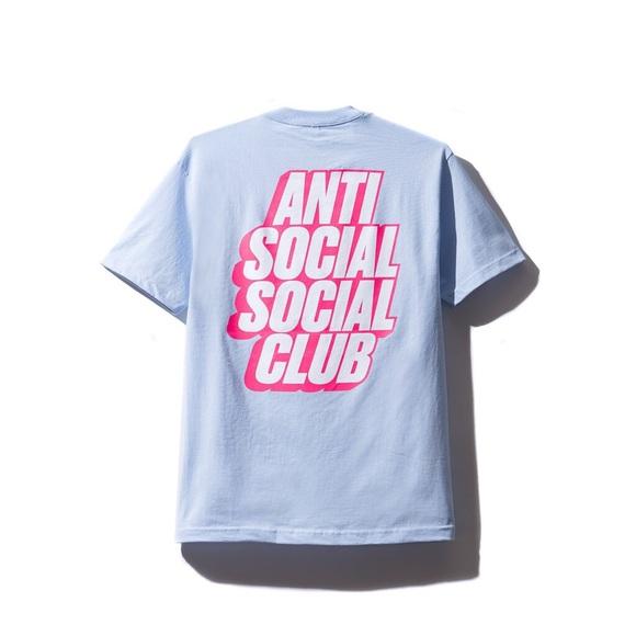 d495a26dc Anti Social Social Club Shirts | Blocked Logo Tee Sz Small | Poshmark
